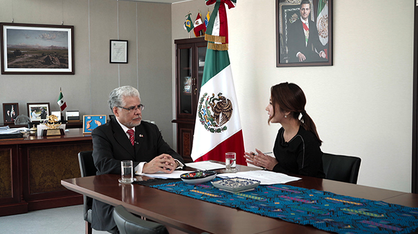 A Talk with the Ambassador of Mexico to Korea
