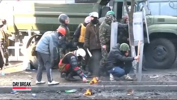 Nine people die on worst day of Ukraine protest violence