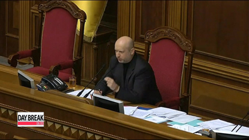 Ukraine's interim leader concerned about separatism