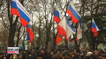 Russia promises to not interfere with Ukraine's territory