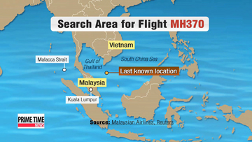 Malaysian authorities identify suspicious passenger as search continues for plane