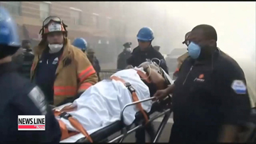Seven dead, dozens injured after two New York City buildings collapse