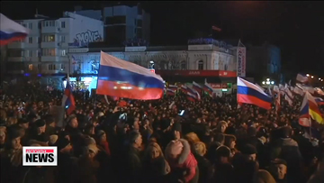 Crimeans vote to leave Ukraine, join Russia