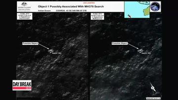 Search for possible debris of Malaysian flight ends for a day