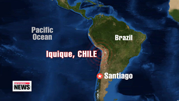 Massive 8.2 earthquake off Chilean coast triggers tsunami