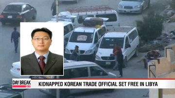 Kidnapped Korean trade official released in Libya