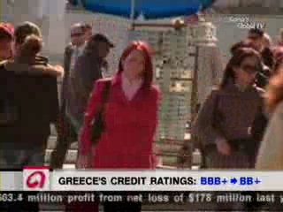 S&P Downgrades Credit Ratings of Greece and Portugal