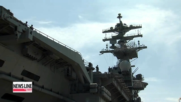 S. Korea, U.S. launch two-day naval drill involving Nimitz supercarrier