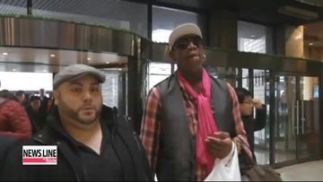 UN to investigate whether Dennis Rodman violated sanctions during North visit