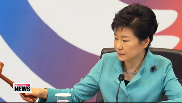 President Park says two Koreas need to hold more family reunion events