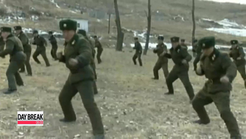 North Korea fires 16 short-range rockets into waters on Sunday