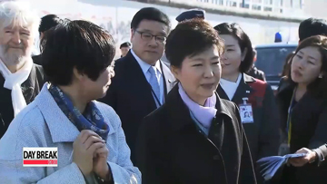 President Park carries on reunification drive in Germany