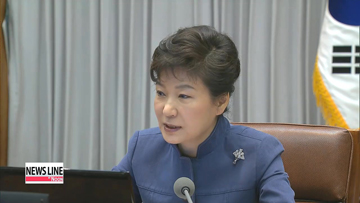 President Park calls for contingency plan against North Korean provocations