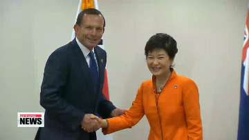 Leaders of Korea, Australia to sign bilateral free trade agreement