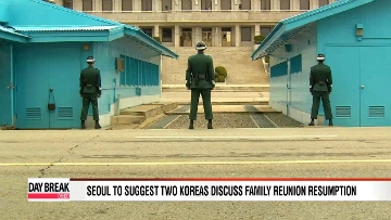 Seoul to suggest two Koreas discuss family reunion resumption