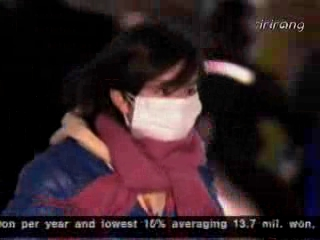 Freezing Low Temperatures in Korea