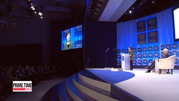 President Park highlights 'creative economy' at World Economic Forum