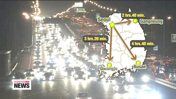 Lunar New Year's Day traffic eases, expected to pick up again Saturday