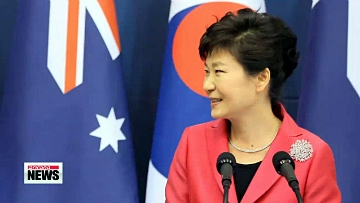 Leaders of Korea, Australia sign FTA, agree to boost security cooperation