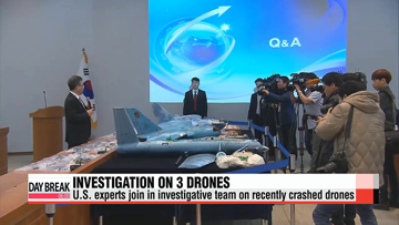 U.S. experts to join team probing 3 crashed drones