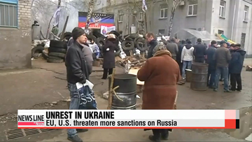 Tensions rise in Ukraine, more sanctions considered for Russia