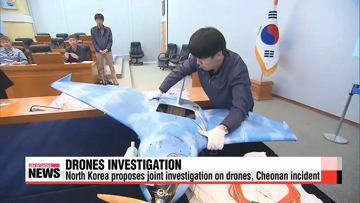 South Korea rebuffs North Korea's offer to conduct joint drones investigation