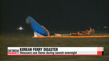 Six dead, 290 missing in Korean ferry sinking