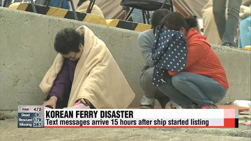 Korean ferry disaster nine confirmed dead