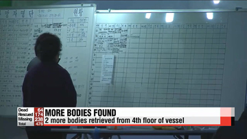 Death toll rises to 64 but no survivors found in capsized Korean ferry