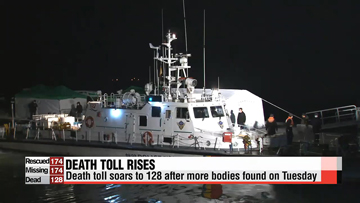 Death toll from Korean ferry disaster soars