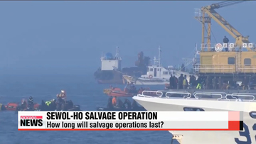Expert view on prospects for salvage operations