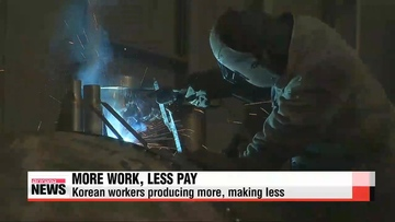 Korean workers producing more, making less