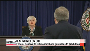 Fed shows faith in U.S. economy with bond-buying reduction