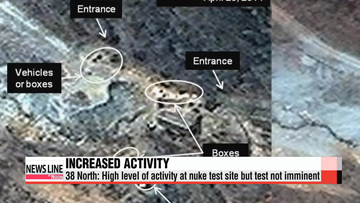 38 North: Increased activity at North Korea's nuke test site