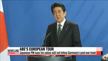 Japan will not follow Germany's model of post-war dealings: Abe