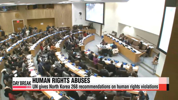 UN makes 268 recommendations to North Korea