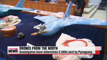 Three UAVs found in South Korea came from North Korea: report