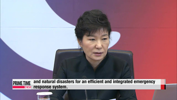 President Park to address nation on ferry disaster this week