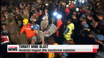 Turkey mine blast kills scores