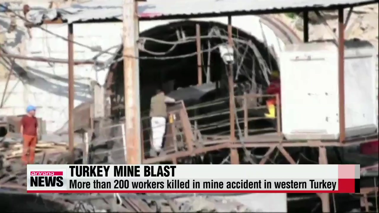 Death toll from Turkey mine blast soars