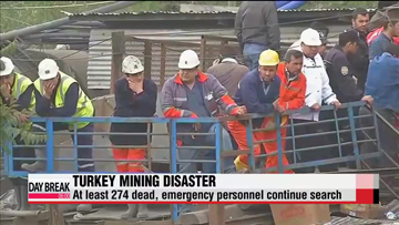 At least 274 dead in Turkey mine disaster