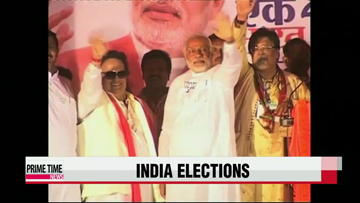 India opposition party set for landslide victory