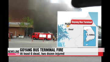 Fire at Goyang Bus Terminal kills seven