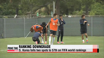 World Cup: S. Korea drops to 57th in FIFA rankings; training continues in Miami