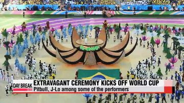 Brazil World Cup begins with extravagant opening ceremony