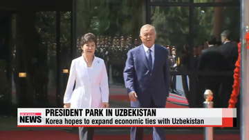 Leaders of Korea, Uzbekistan seek economic cooperation beyond energy
