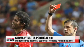 World Cup 2014: Germany's 100th game at World Cups a with Muller's hat trick