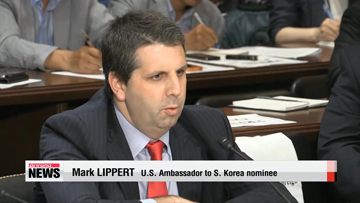 Confirmation hearing held for U.S. Ambassador to South Korea nominee