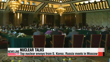 S. Korean envoy in Russia for talks on N. Korea's nuke program