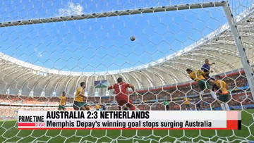 World Cup: Australia vs. Netherlands